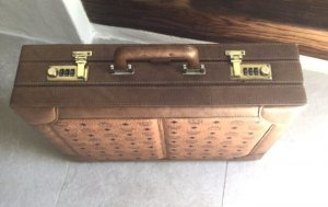 MCM Koffer Aktenkoffer Vintage