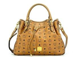 MCM Kordelzug Umhängetasche Large Crossbag Tasche Visetos Bag Drawstring Shopper