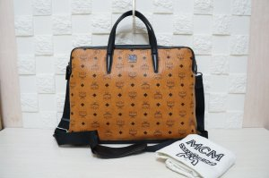 MCM Crossbody bag black-brown