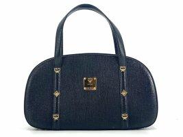 MCM Handbag black-gold-colored leather