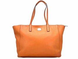 MCM Leder Shopper Bag Large Tasche Henkeltasche Schultertasche Orange