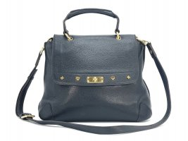 MCM Crossbody bag black-gold-colored