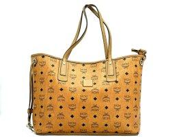 MCM Limited Edition Patricia Field Shopper Wendeshopper Bag Tasche Cognac