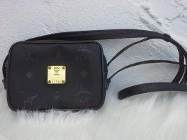 MCM Minibolso negro-color oro