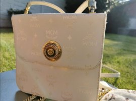 MCM Handbag natural white-oatmeal
