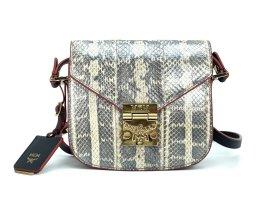 "MCM Patricia ""Real Snake"" Handtasche Bag Tasche Schultertasche Small"