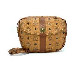 MCM Patricia Visetos Bag Vintage Schultertasche Tasche Handtasche Michael Cromer