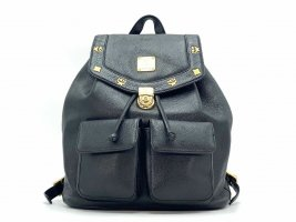 MCM Daypack black-gold-colored
