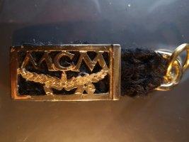 MCM Key Chain black-gold-colored