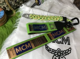 MCM Key Chain multicolored metal
