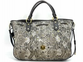 MCM Schultertasche Large Reptiloptik Crossbag Tasche Bag Drawstring Shopper