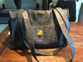 MCM Shopper black mixture fibre