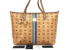 MCM Shopper multicolored mixture fibre