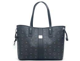 MCM Shopper Bag Tasche Schwarz Henkeltasche Medium Liz *NEU*