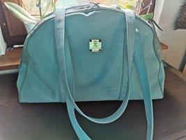 MCM Shopper Mona, in der sehr raren Costa Smeralda Farbe Türkise, alt