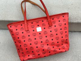 MCM Shopper red