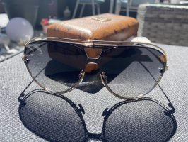 MCM Glasses gold-colored-silver-colored