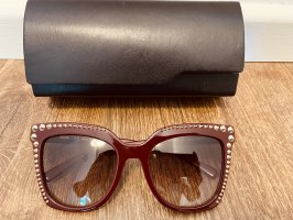 MCM Butterfly Glasses bordeaux-gold-colored