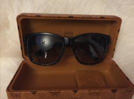 mcm Sonnenbrille schwarz / Gold