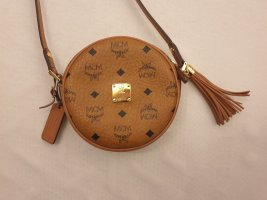 MCM Tambourine small Heritage Collection, Cognac