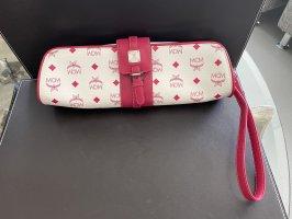 MCM Clutch white-pink