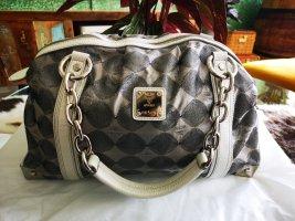 MCM Handbag white-silver-colored