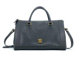 MCM Tasche Henkeltasche Schwarz Black Umhängetasche Shopper Business Bag Medium