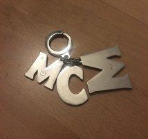 MCM Taschen/Schlüsselanhänger Silber/bunt