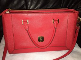 MCM Shoulder Bag red-dark red