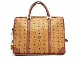 MCM Vintage Business Bag Messenger Laptoptasche Dokumententasche Tasche Cognac