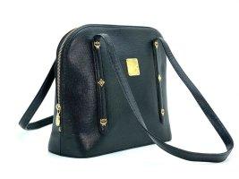 MCM Carry Bag black-gold-colored