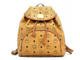 MCM Vintage Rucksack Visetos Backpack Heritage Blogger Sammler Collector