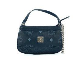 MCM Visetos Etui Mini Bag Kosmetiktasche small Schwarz Tasche Schlüsseltasche