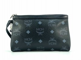 MCM Enveloptas zwart-zilver
