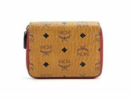 MCM Wallet cognac-coloured-red