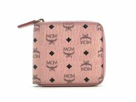 MCM Wallet light pink-black