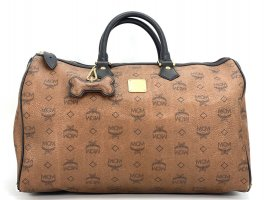 MCM Travel Bag multicolored mixture fibre