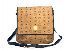 MCM Visetos Messenger Tasche Handtasche Schultertasche Shopper Business Bag