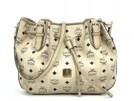 MCM Visetos Schultertasche Medium Crossbag Tasche Visetos Bag Drawstring Shopper