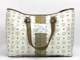 MCM Visetos Shopper Bag Lion X-Large Big Beach Bag Strandtasche