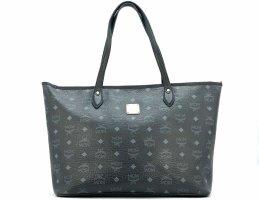 MCM Shopper zwart-zilver
