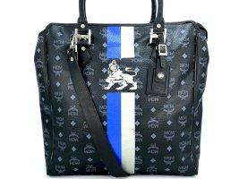 MCM X - Large Visetos Lion Schultertasche Crossbody Shopper Bag Messenger