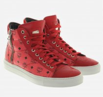 MCM High Top Sneaker multicolored leather