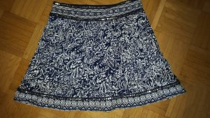 Circle Skirt dark blue-white