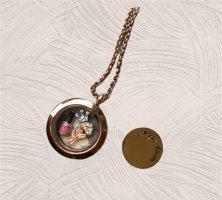 Pippa & Jean Medallion rose-gold-coloured