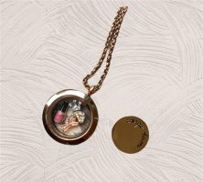 Pippa & Jean Medallion rose-gold-coloured