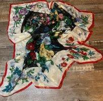 Medici Foulard en soie multicolore