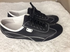 Medicus Leder Sneaker Schuhe Weite G breite Füße Gr 41 42 blau marine schwarz