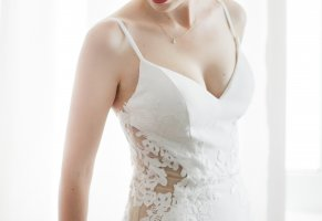 A-Z Robe de mariée blanc