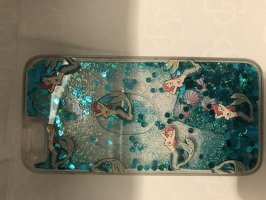 Ventaglio blu fiordaliso-turchese